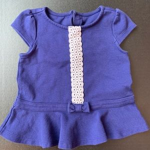 Janie and Jack Peplum Top